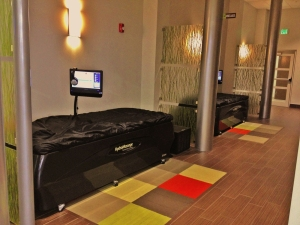 HydroMassage Zone in Vent Fitness