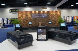 HydroMassage Booth at IHRSA 2014