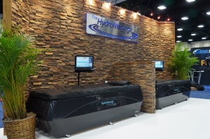 HydroMassage Zone at IHRSA 2014