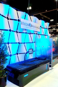 HydroMassage IHRSA Booth